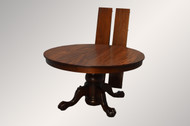 SOLD Victorian Round Mahogany Ball and Claw Banquet Dining Table REDUCED PRICE!