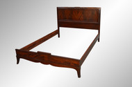 SOLD Flame Mahogany Formal Bed