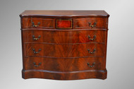 SOLD Flame Mahogany Formal Low Chest