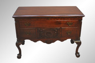 SOLD  Mahogany Chippendale Ball and Claw Cedar Chest