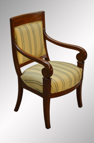 SOLD Empire Boudoir Chair