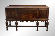 SOLD Carved Oak Jacobean Sideboard