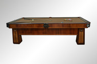 SOLD Antique Inlaid Mother of Pearl Deco Pool Table