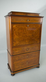 SOLD Antique Biedermeier Olive Ash Abante