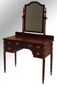 SOLD Antique Mahogany Sheraton Lady's Vanity – Cookie Corner