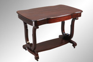 SOLD Antique Mahogany Empire Library Table