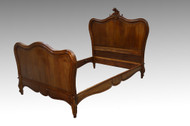 SOLD Antique Victorian French Carved Bed