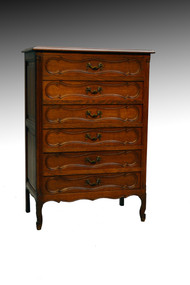SOLD Scarce Oak Six Drawer Lingerie Chest