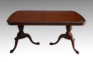 SOLD Mahogany Chippendale Dining Room Table by Drexel