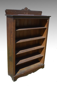 SOLD Antique #6 Larkin Solid Oak Bookcase