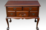 SOLD Mahogany Chippendale Ball and Claw Lowboy **REDUCED PRICE**