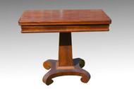 SOLD Antique Civil War Era Empire Game Table **REDUCED PRICE**