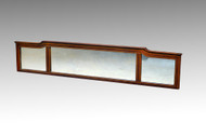 SOLD Inlaid Mahogany Sideboard Mirror Top