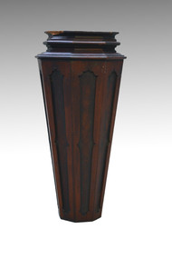SOLD  Antique Victorian Rosewood Newell Post