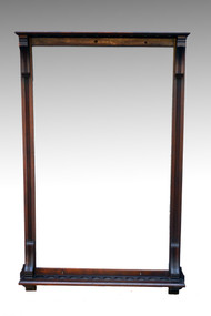 SOLD Antique Victorian Age Brunswick Pool Billiard Cue Stick Holder Rack