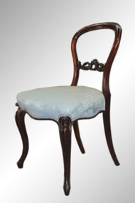 SOLD Antique Victorian Lady's Walnut Desk Chair