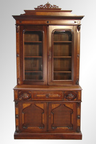 SOLD Antique Victorian Walnut Butler's Secretary Desk