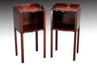 SOLD Pair of Mahogany Night Stands / End Tables