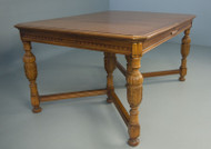 SOLD Antique Walnut Banquet / Computer / Dining table
