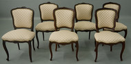 SOLD Set of 6 French Dining Room Chairs