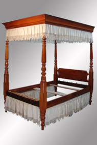 SOLD Early Four Poster Canopy Bed