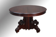 SOLD Antique Victorian Banquet Table , 12 Feet Long