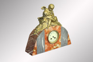 SOLD Antique Deco Marble Shelf Clock - Victorian
