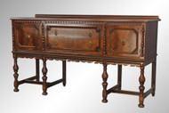 SOLD Antique Carved Sideboard by Berkey & Gay