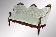 SOLD Antique Victorian Rosewood Sofa