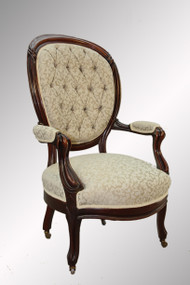SOLD Antique Victorian Gentleman's Arm Chair
