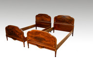 SOLD Vintage Pair of French Style Twin Beds