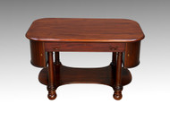 SOLD Antique Mahogany Empire Library Table Writing Desk