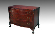 SOLD Mahogany Chippendale Ball and Claw Chest
