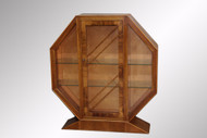 SOLD Antique Rare Art Deco Curio Cabinet – Must Check it Out!