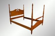 SOLD Vintage Maple Pencil Post Full Size Poster Bed *REDUCED PRICE*