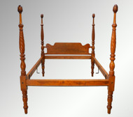 SOLD Antique Early Sheraton Canopy Bed Full Size *REDUCED PRICE*