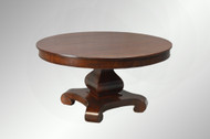 SOLD Antique Period Empire Mahogany Banquet Dining Room Table *REDUCED PRICE*