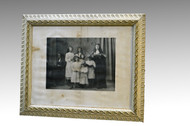 16860 Antique Victorian Picture Frame with Print