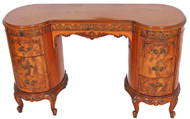 SOLD French Victorian Carved Vanity Desk