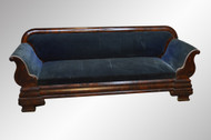 SOLD Monumental Civil War Era Empire Sofa