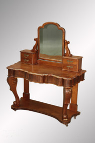 SOLD Antique Mahogany Victorian Vanity