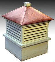 SOLD Copper Top Cupola