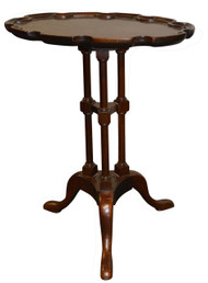 SOLD Chippendale Dainty Lamp Table by Baker