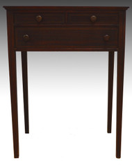 SOLD Inlaid Mahogany Sewing Stand