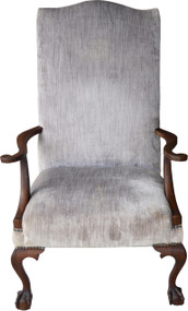SOLD Mahogany Chippendale Arm Chair