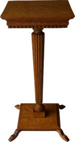 16996 Victorian Oak Pedestal Stand