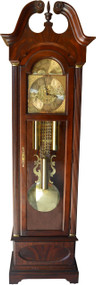SOLD Howard Miller Triple Weight Triple Chime Grandfather Clock Model 610-341
