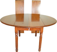 18243 Victorian Walnut Drop Leaf Country Table