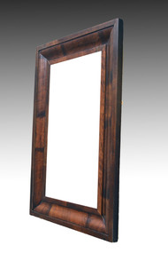 SOLD Period Empire Ogee Wall Mirror