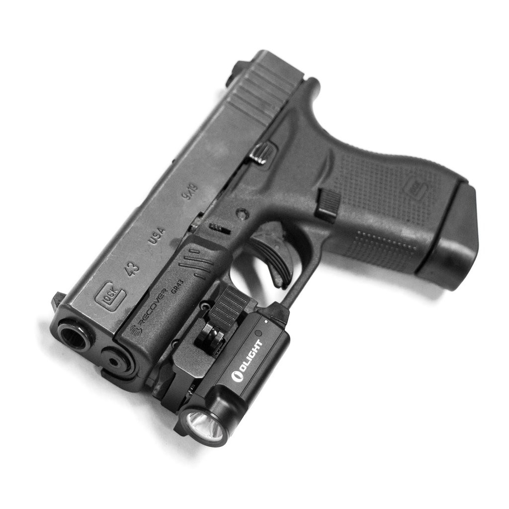 Rail Adapter For The Glock 43 43X and 48